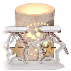 Svícny a svíčky