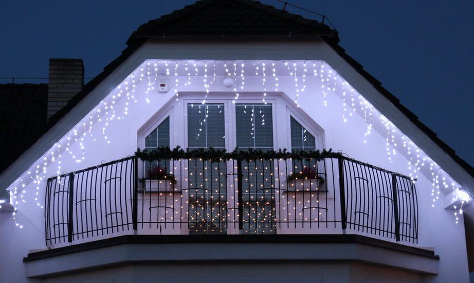 Vánoční LED rampouchy