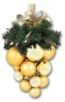 Vánoční hrozen - zlaté + zlaté