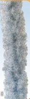 Girlanda umělé jehličí - stříbrná