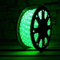 Světelný kabel LED, 36LED/1m zelená