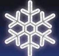 VLOČKA, LED - studená bílá
