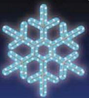 VLOČKA, LED - modrá