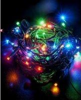 Řetěz efektový, 120LED, 20m, multicolor