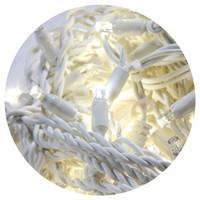 HIGH-PROFI LED girlanda DELUXE stálesvítící - denní bílá