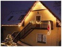 Světelné rampouchy LED PROFI prodlužovací, 2x0,5m, denní bílá
