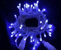 Vánoční LED girlanda prodlužovací 230V - modrá