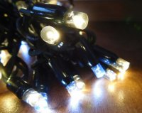 LED řetěz HIGH-PROFI 27 LED teplá bílá + 13 LED studená bílá - 5m