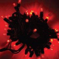 Girlanda LED PROFI 5m/40 LED červených, prodloužitelná