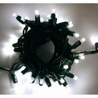 Girlanda LED PROFI 5m/35 + 5 flash LED studených bílých, prodloužitelná