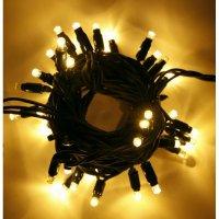 LED řetěz HIGH-PROFI 35 LED teplé bílé +5 LED studené FLASH efekt - 5m