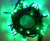 Girlanda LED 5m/40 LED zelená