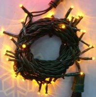 Girlanda LED 5m/40 LED žlutá