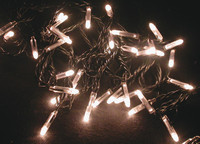 Vánoční girlanda žárovková - 230V