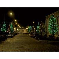 MAXILEB-LED - světelný řetěz 20m/200 zelených LED, VYSOKÁ ŽIVOTNOST !