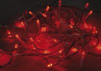 Vánoční LED girlanda efektová 24V - červená