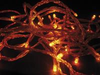 Vánoční LED girlanda efektová 24V - žlutá