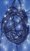LED girlanda 24V efektová - studená bílá