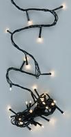 Vánoční LED girlanda venkovní - 24 LED, teplá bílá