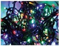 LED girlanda vnitřní / venkovní + ovladač, multicolor, 120 LED