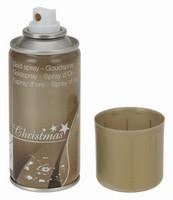 Vánoční dekorační sprej - zlatý 150ml