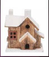 Dřevěný domek - střední