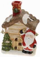 Vánoční domek svítící - varianta C