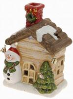 Vánoční domek svítící - varianta D