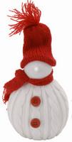 Sněhulák svítící - červený
