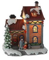 Domek vánoční 230V - malý - varianta H