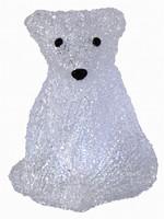 Lední medvěd svítící na baterie - varianta A