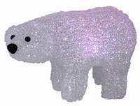Lední medvěd svítící na baterie - varianta C