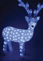 Jelen milky svítící - 60 bílých LED