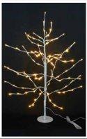 Stromek svítící bílý (18 větví)