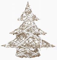 Vánoční stromek s ratanem