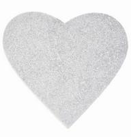 Srdce - závěsná pěnová dekorace