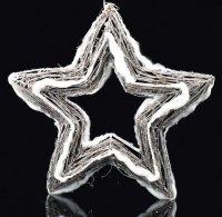 Hvězda xmas svíticí 20LED