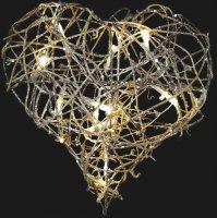 Srdce ratanové svítící