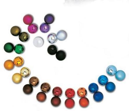 Vánoční koule 10cm - různé odstíny