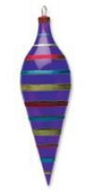 Amfora fialová 13 x 40 cm