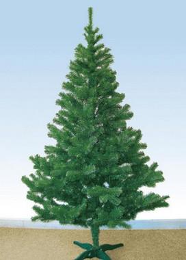 Vánoční strom z umělého jehličí zelený 1,5m