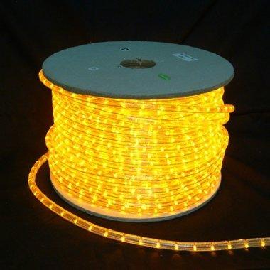 Světelný kabel LED, 36LED/1m žlutá