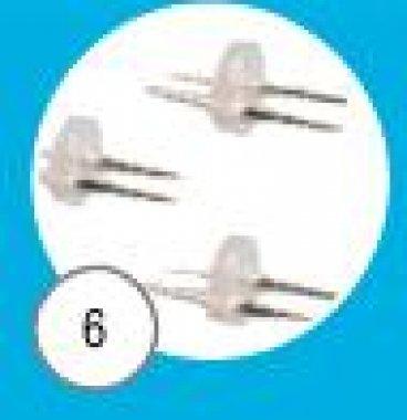Spojka napichovací pro vodotěsné spojení 2ks kabelu