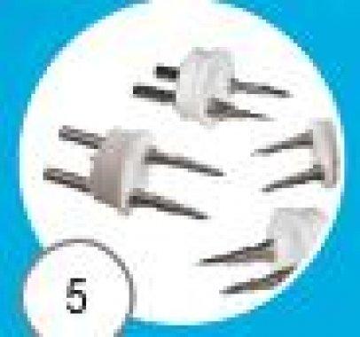 Napájecí konektor 2x pin