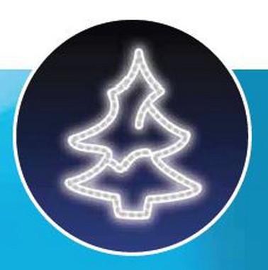 Stromek, LED - studená bílá