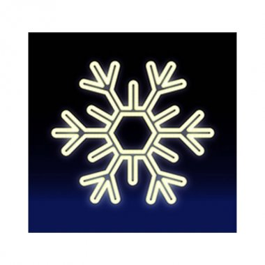 VLOČKA LED 20W 75x75, studená bílá