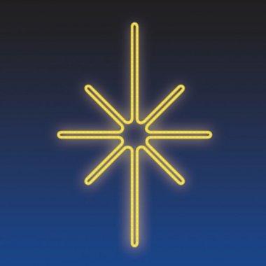 KRYSTAL LED 15W, žlutá