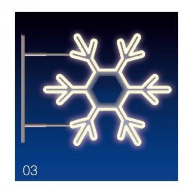 VLOČKA 25W LED 75x65, denní bílá