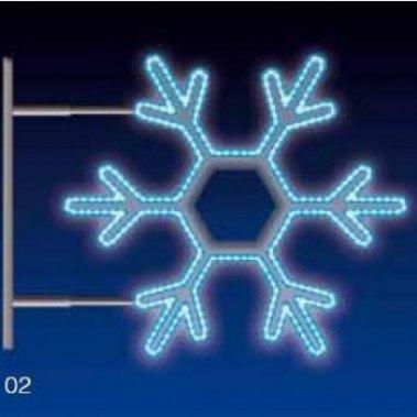 VLOČKA 25W LED 75x65 modrá