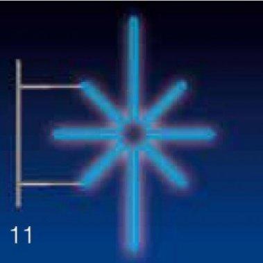 KRYSTAL 20W LED 80x50 modrý